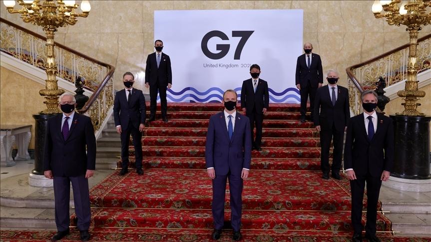 İngiltere'de düzenlenen G7 Dışişleri Bakanları Toplantısı ortak bildirgesi açıklandı