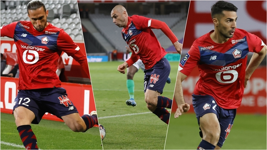 Lille, Burak Yılmaz, Yusuf Yazıcı ve Zeki Çelik ile 10 yıl sonra şampiyonluk yaşadı