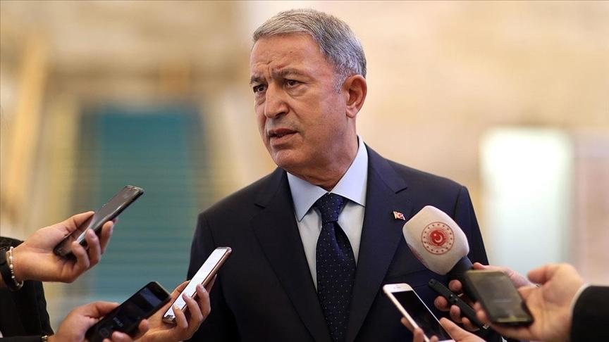 Milli Savunma Bakanı Akar: Milletimizin mensubu olmaktan gurur duyuyoruz