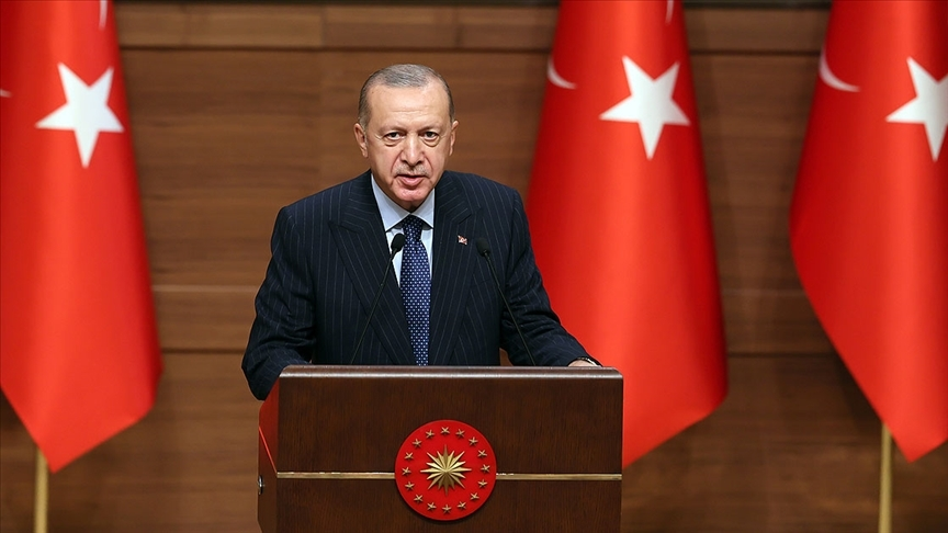 Cumhurbaşkanı Erdoğan: Türkiye'ye yönelik artan yatırım iştahını fırsata çevireceğimize inanıyorum