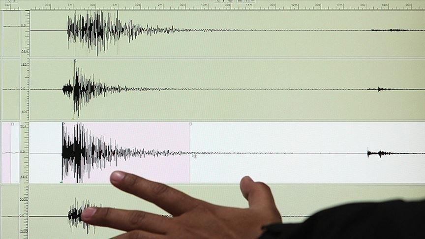 Ege Denizi'nde 3,8 büyüklüğünde deprem