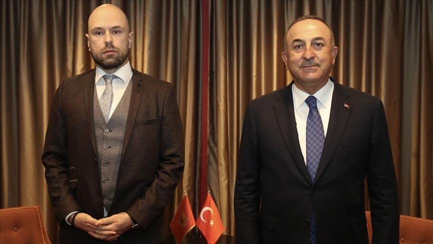 Dışişleri Bakanı Çavuşoğlu, Brüksel'de Raduloviç'le bir araya geldi