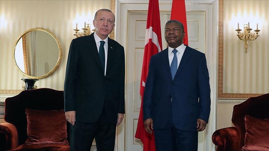 Cumhurbaşkanı Erdoğan ile Angola Devlet Başkanı Lourenço ortak basın toplantısı düzenledi