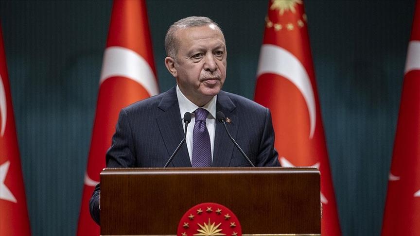 Cumhurbaşkanı Erdoğan: Biden, mesnetsiz, haksız ve hakikatlere aykırı ifadeler kullanmıştır