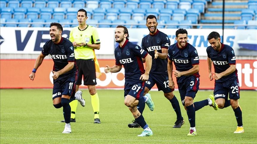 Trabzonspor, UEFA Avrupa Konferans Ligi'nde play-off turuna yükseldi
