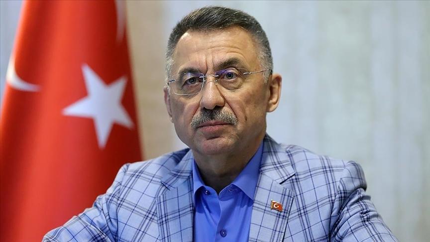 Cumhurbaşkanı Yardımcısı Oktay'dan şehit asker Özdamar için başsağlığı mesajı