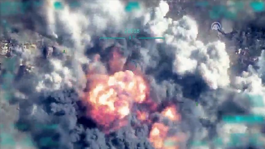MSB, terörist 'Sofi Nurettin'in etkisiz hale getirildiği harekatın görüntülerini paylaştı