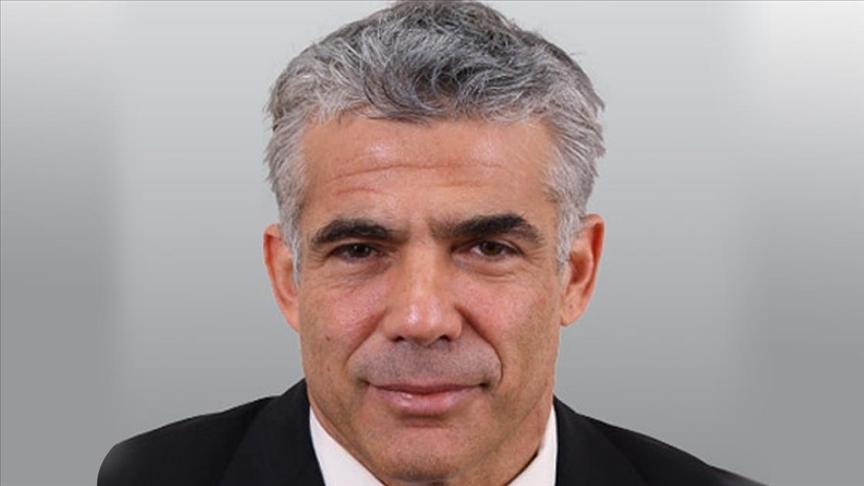 Yes Atid lideri Lapid, İsrail Meclisi Başkanı'na 'güven oylamasının kısa sürede' yapılması çağrısı yaptı