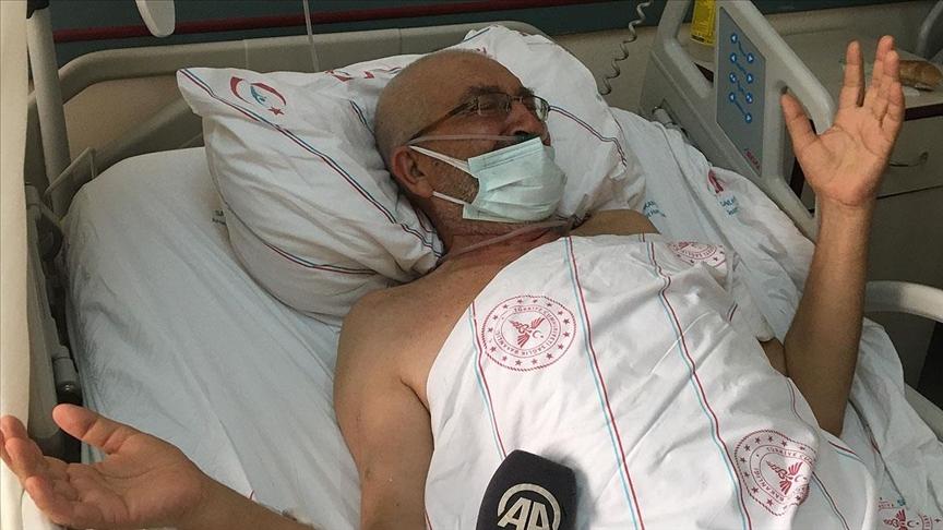 Hastanede tedavileri süren yaralılar Manavgat'taki yangında yaşadıklarını anlattı
