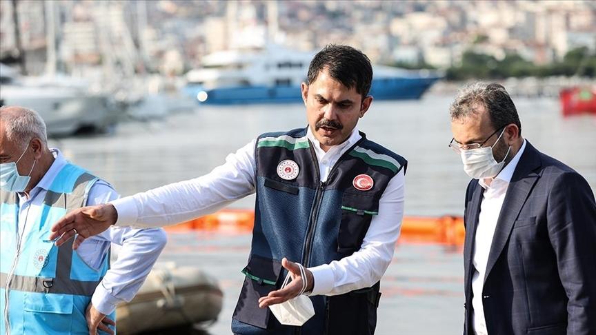 Çevre ve Şehircilik Bakanı Kurum: Marmara'mız artık dünden daha temiz ve mavi