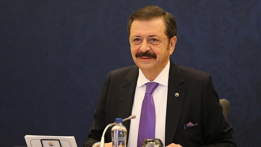 TOBB Başkanı Hisarcıklıoğlu'ndan, hibe ve Nefes Kredisi destekleri için Cumhurbaşkanı Erdoğan'a teşekkür