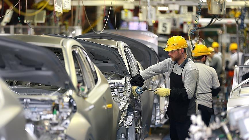 Otomotivde üretim yüzde 8 ihracat yüzde 9 arttı