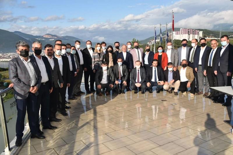 Davut Gürkan : Bursamızın geleceği için çalışıyoruz