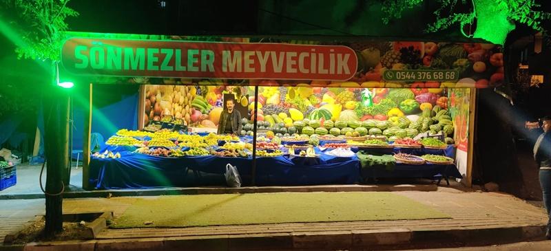 Taze meyve ve sebze için SÖNMEZ MANAV