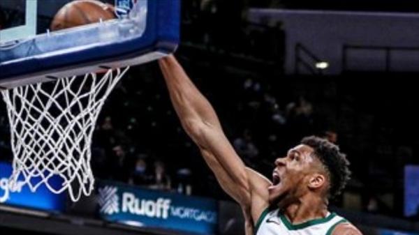 NBA'de Bucks, Antetokounmpo'nun 40 sayısıyla kazandı