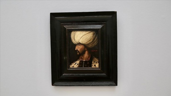 Kanuni Sultan Süleyman'ın portresi 350 bin sterline satıldı