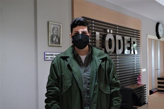 Lösemiyi iki kez yendiği üniversite hastanesinde hasta çocuklara umut aşılıyor