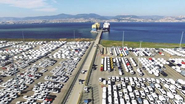 Otomotiv ihracatı temmuzda  2 milyar dolar oldu