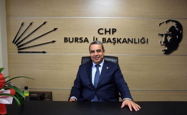 CHP İl Başkanı Karaca'dan Bursaspor'a destek çağrısı