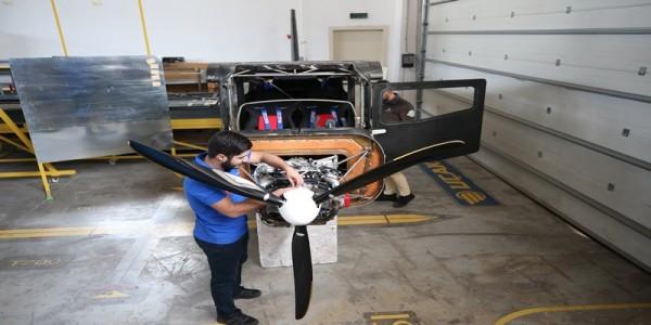 Bursa'da üretilen eğitim uçağı yıl sonunda gökyüzüyle buluşacak