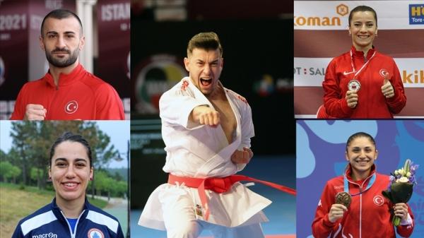 Karatede 5 olimpiyat kotası birden