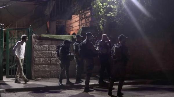 İsrail polisi Şeyh Cerrah'ta Filistinlilere müdahale etti