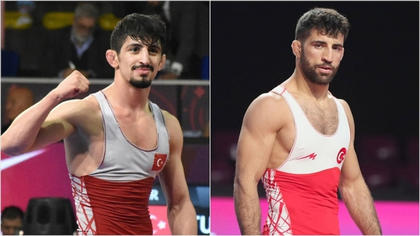 Milli güreşçilerden Avrupa Güreş Şampiyonası'nda gümüş ve bronz madalya
