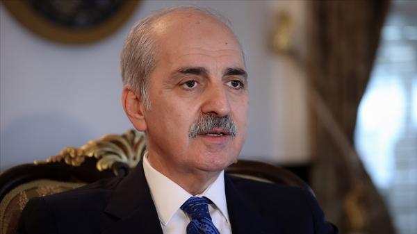 AK Parti Genel Başkanvekili Kurtulmuş: Gelinen noktada İsrail'in fiilen durdurulmasından başka bir yol kalmamıştır