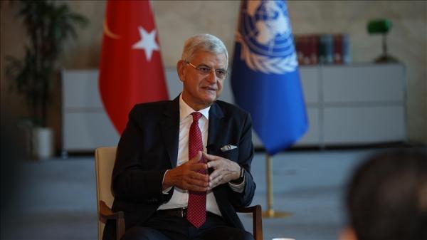 BM Genel Kurul Başkanlığını devreden Bozkır'dan 'etkin bir BM için Genel Kurulun güçlendirilmesi' mesajı