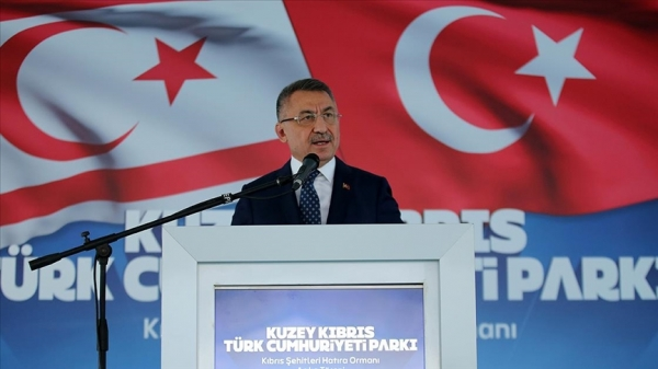 Cumhurbaşkanı Yardımcısı Oktay: Akdeniz'de rotasını şaşıran cevabını alır
