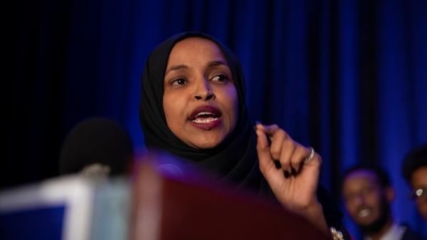 ABD Kongresi üyesi Omar: İsrail'in Gazze'de sivillerin ölümüne yol açan hava saldırıları terör eylemidir