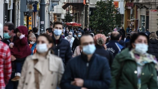 Koronavirüs vakalarının 100 bin kişide 200'den fazla görüldüğü il sayısı 56'ya yükseldi