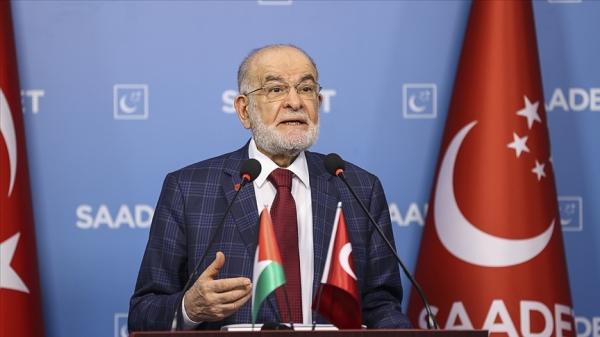 Saadet Partisi Genel Başkanı Karamollaoğlu'dan İsrail'in Mescid-i Aksa'ya yönelik saldırılarına tepki
