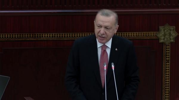 Cumhurbaşkanı Erdoğan: Bugünde yarında  Azerbaycan'ın yanındayız