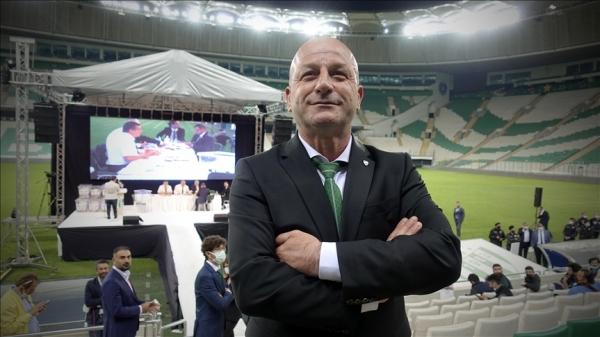 Bursaspor'da yeni başkan Hayrettin Gülgüler oldu