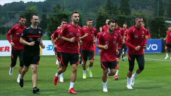 A Milli Futbol Takımı hazırlıklarına başladı